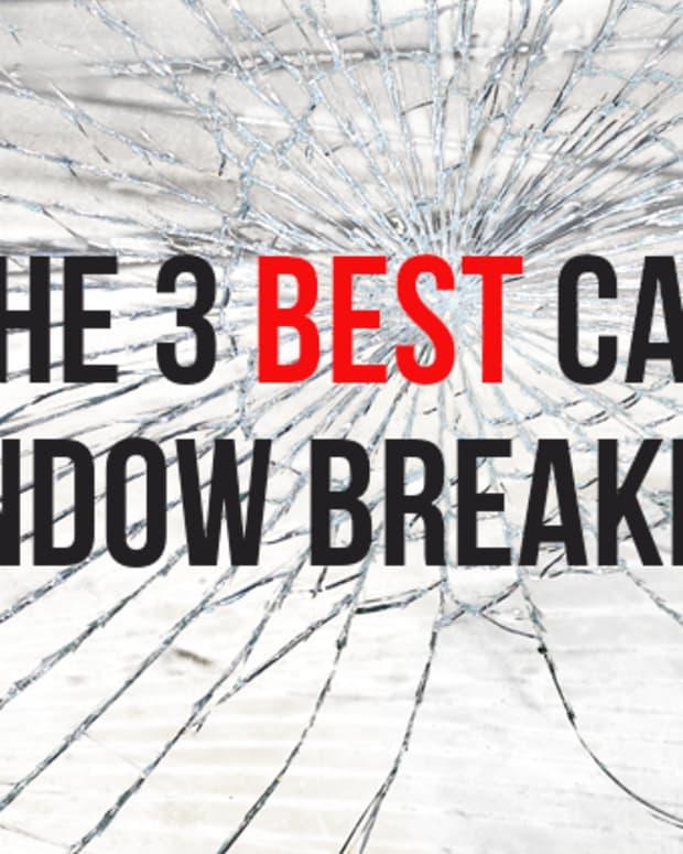 我的5最喜欢的紧急窗口破碎机 - 汽车