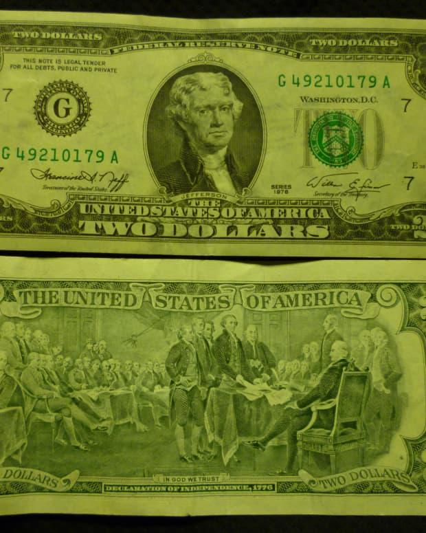 value-of-two-dollar-bills