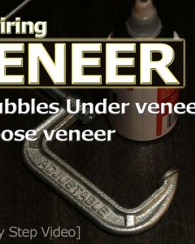 laminated-wood-veneer-home-repairs-for-bubbled-or-loose-veneer-video