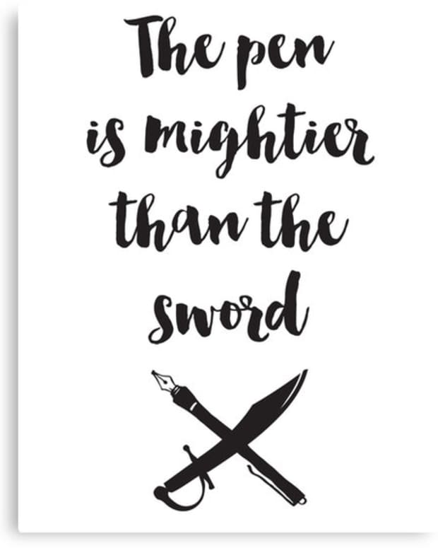 the-pen-is-mightier-than-the-sword-aka-gun