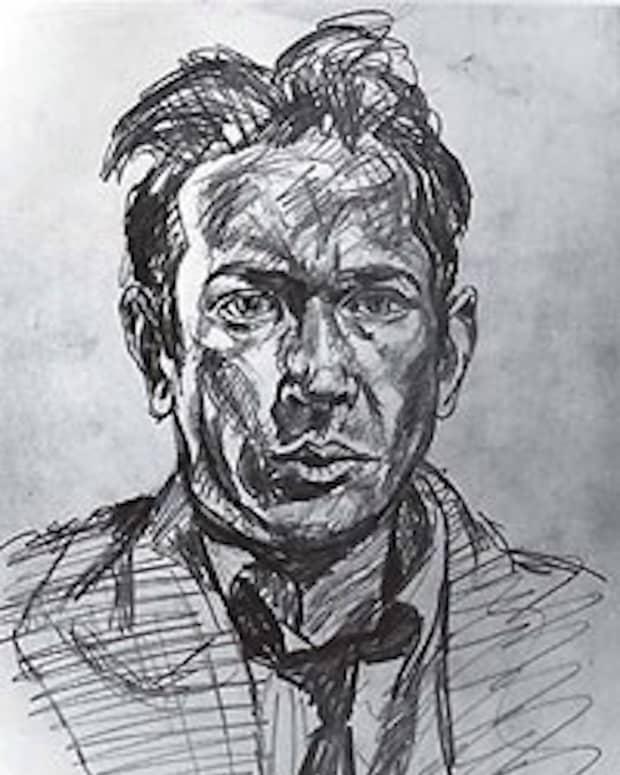 E. E. Cummings - Drawing