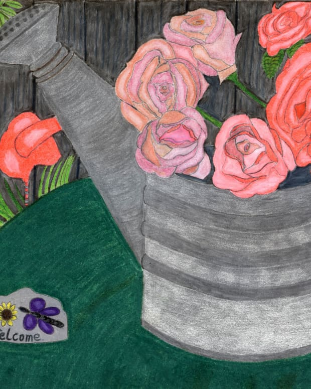 drawing-a-picture-of-roses