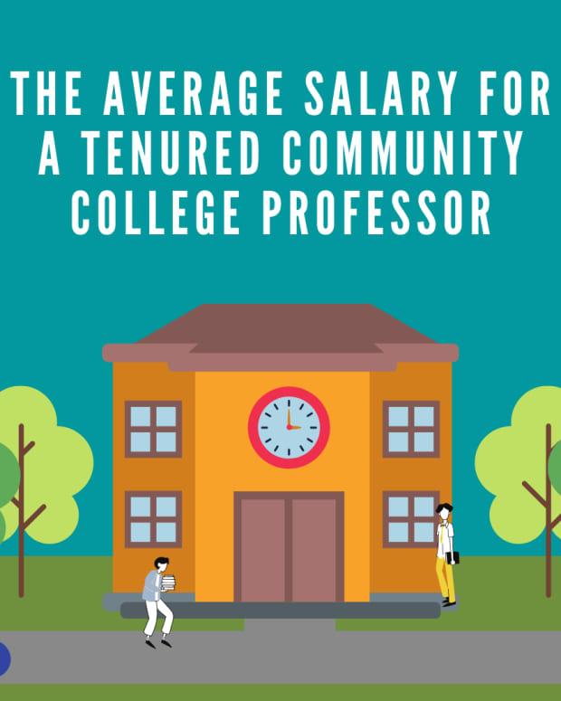 average-salary-for-a-tenured-community-college-professor