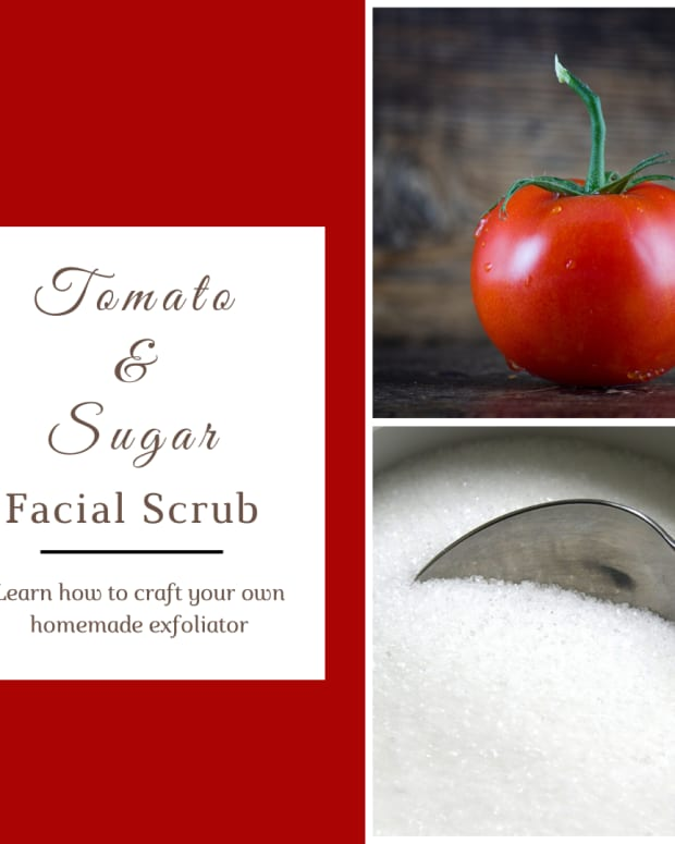 how-to-how-to-make-sugar-facial-scrub-with-a-tomato