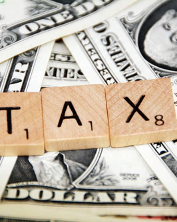 Tax on dollars