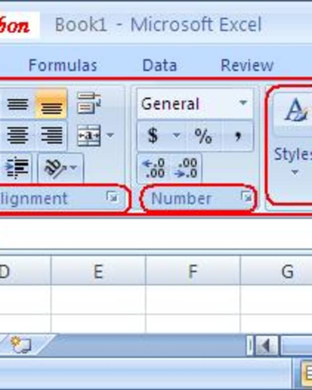 the-home-tab-of-microsoft-excel-2007