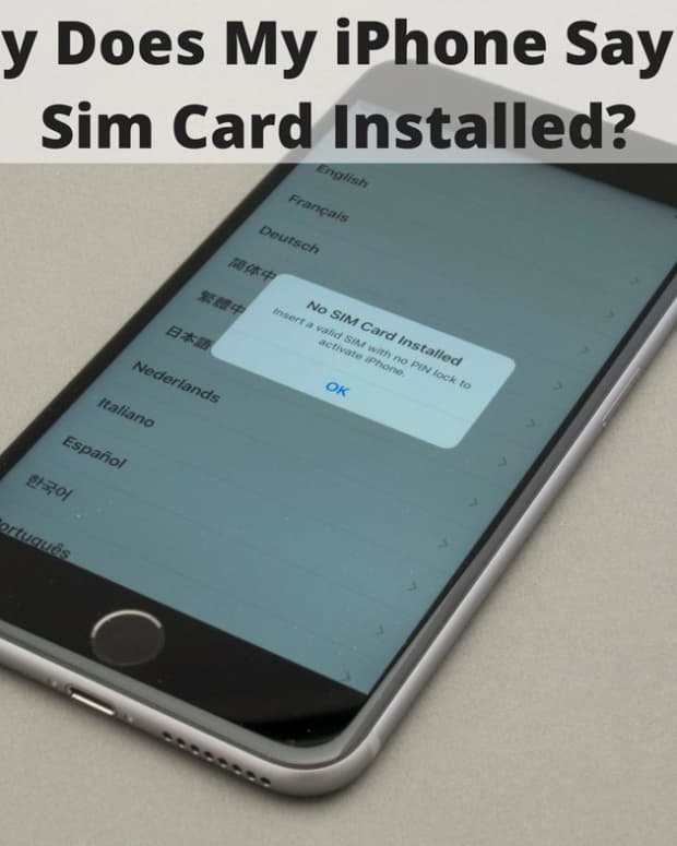 why-does-my-iphone-say-no-sim-card-installed