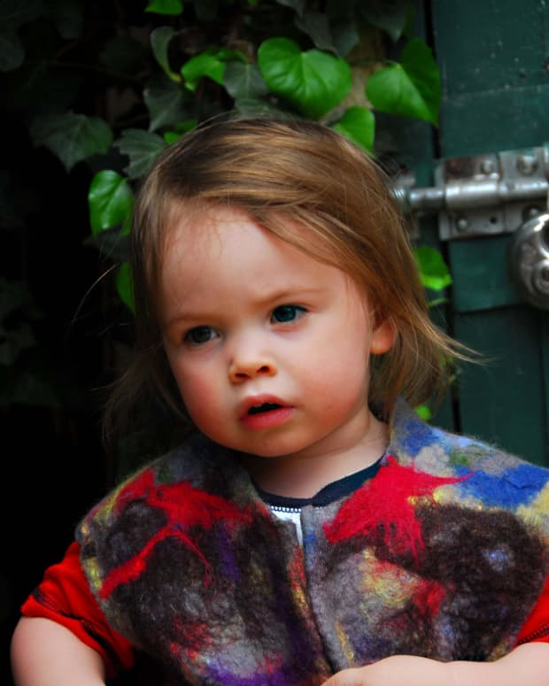 how-to-wet-felt-a-childs-gilet-using-a-simple-commercial-sewing-pattern