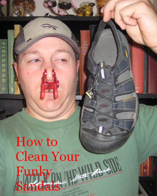 how-to-clean-funky-sandals