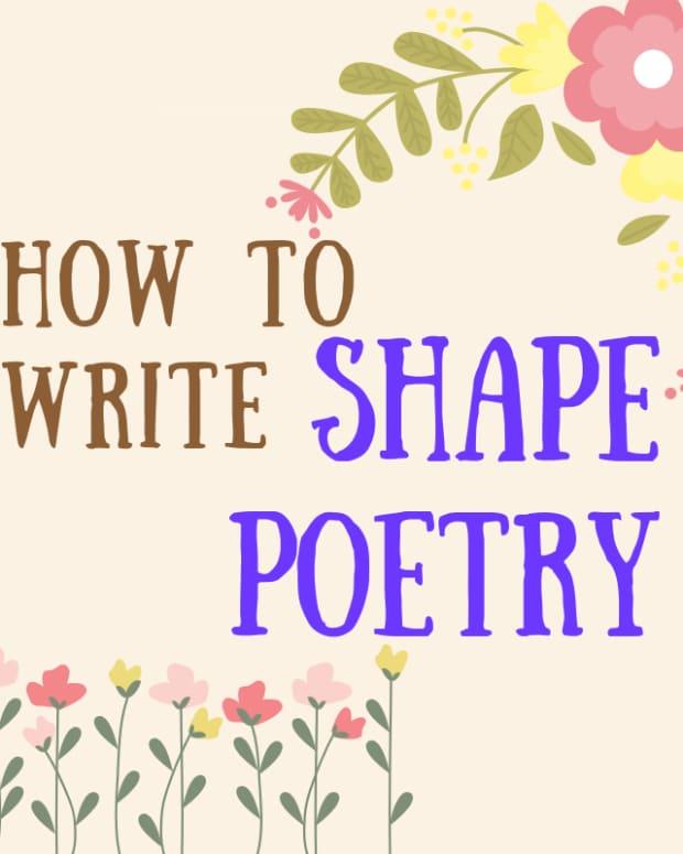 how-to-write-shape-poetry