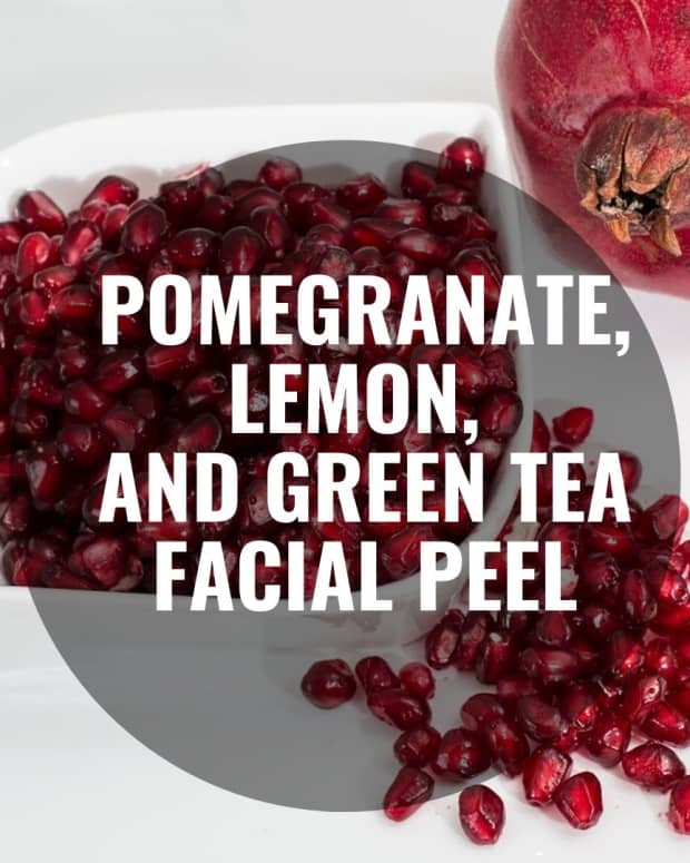 pomegranate-lemon-and-green-tea-facial-peel