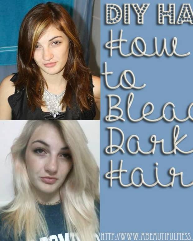 how-to-bleach-dark-hair
