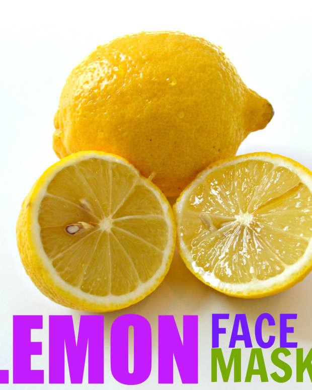 lemon-face-mask-recipes