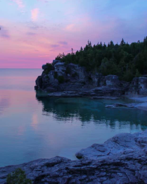 cyprus-lake-bruce-peninsula-national-park