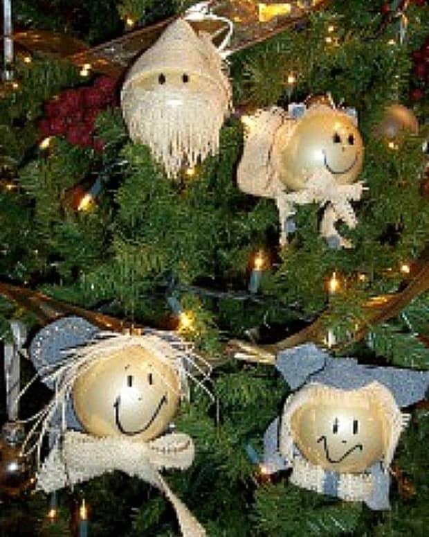 burlap-angel-ornaments