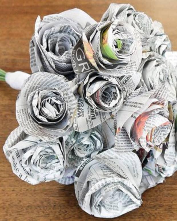 best-crafts-using-newspaper