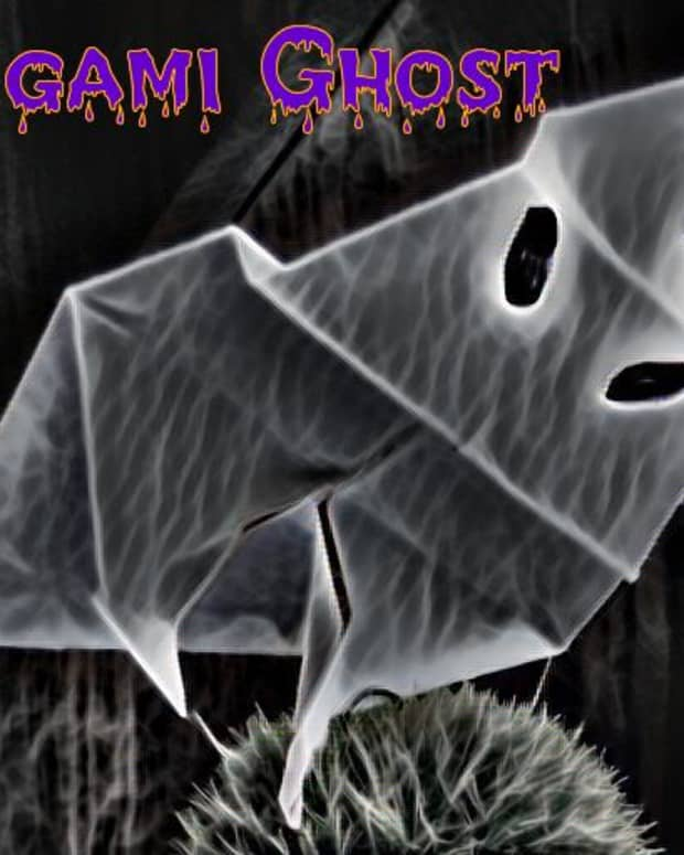 origami-ghost