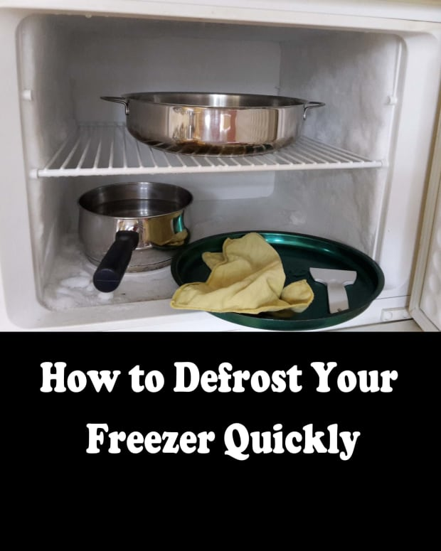 defrost--freezer-quickly