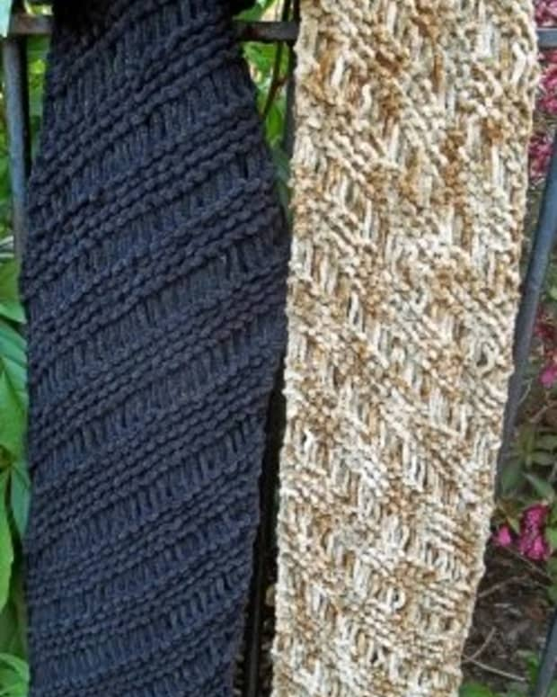 bias-knitting