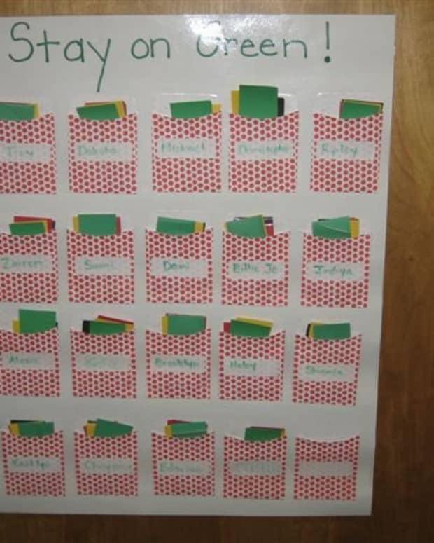 Kindergarten Behavior Chart