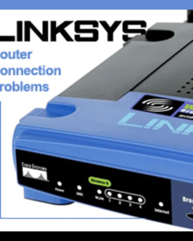 linksys-connection-problems