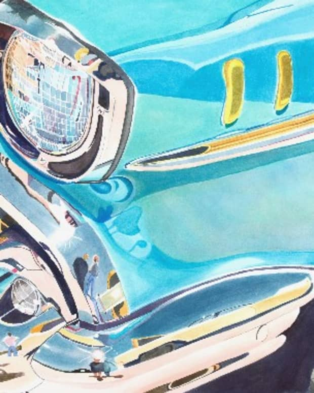 painting-pictures-of-cars-in-watercolor