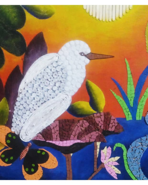 best-out-of-waste-how-to-make-a-beautiful-wall-mural-using-waste-material