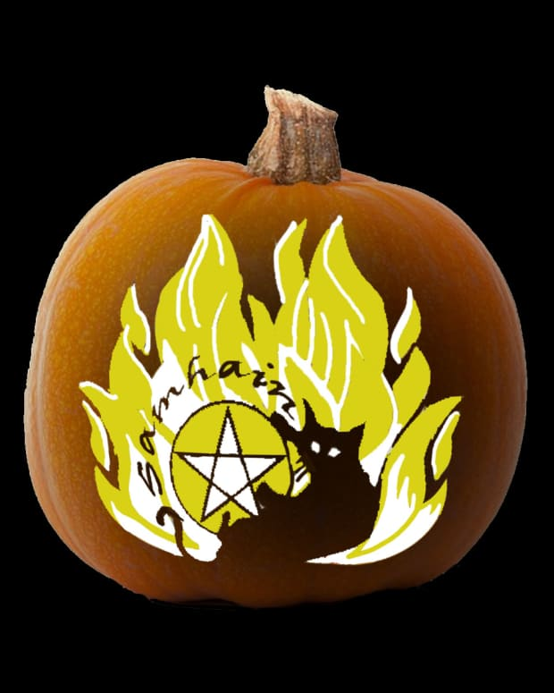 more-samhain-pagan-pumpkin-carving-printable-stencils