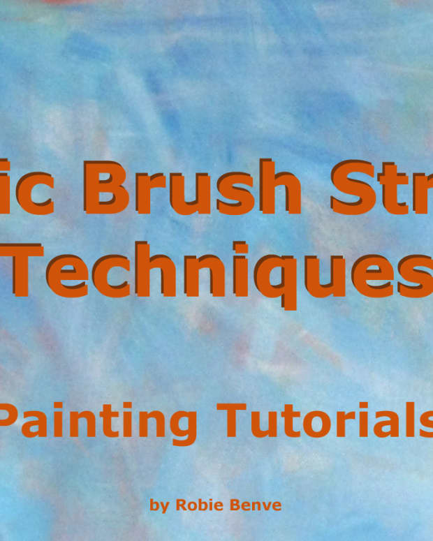 Basic brushstrokes types with examples.