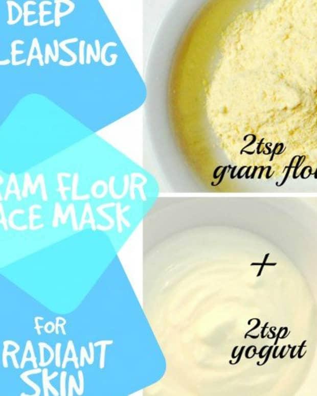 top-3-gram-flour-face-mask-recipes-for-beautiful-skin