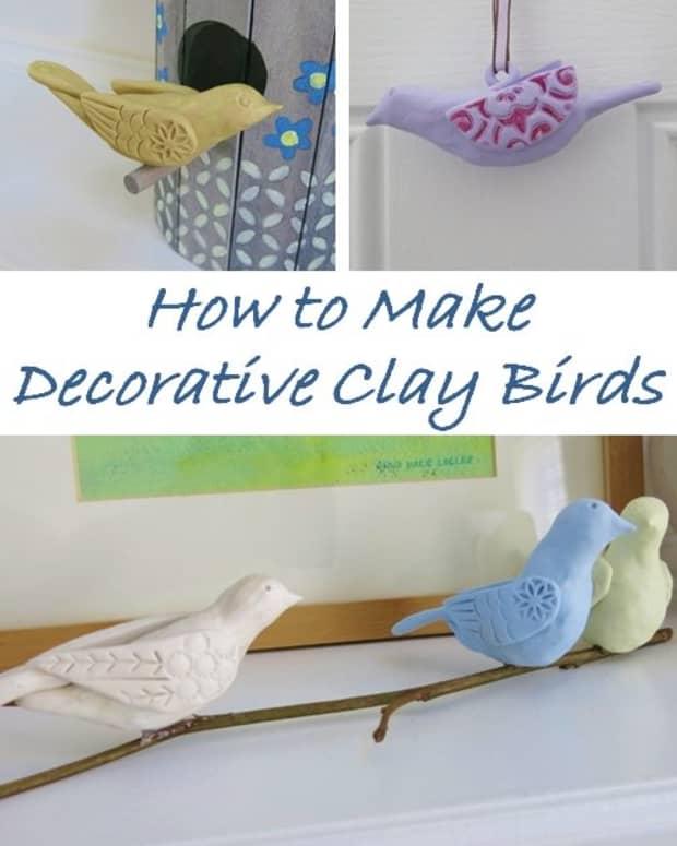 diy-craft-tutorial-how-to-make-decorative-clay-birds