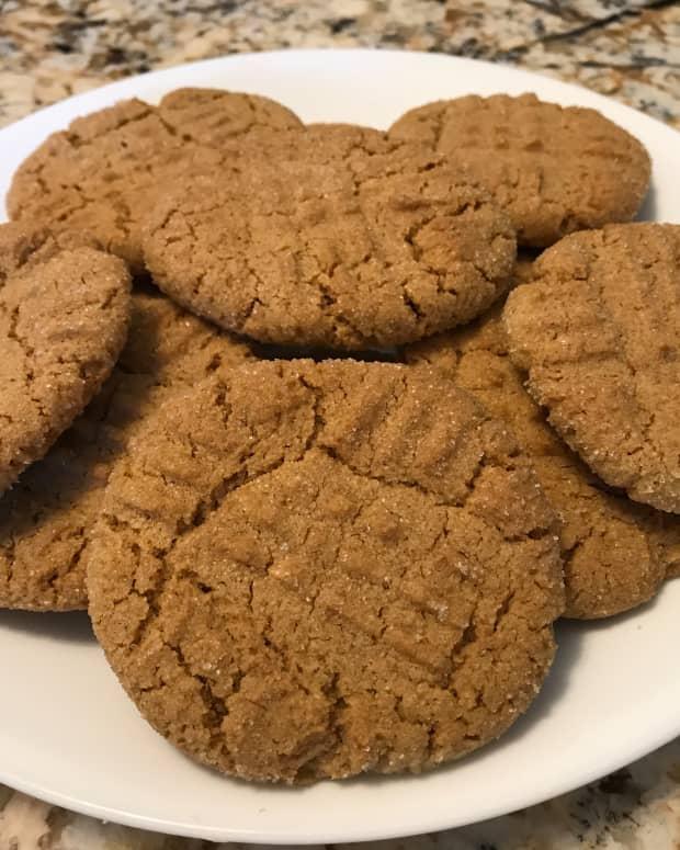 Peanut Butter Cookies: Vegan & Non-Vegan Recipes