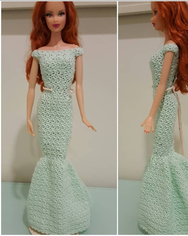barbie-off-shoulder-mermaid-gown-free-crochet-pattern