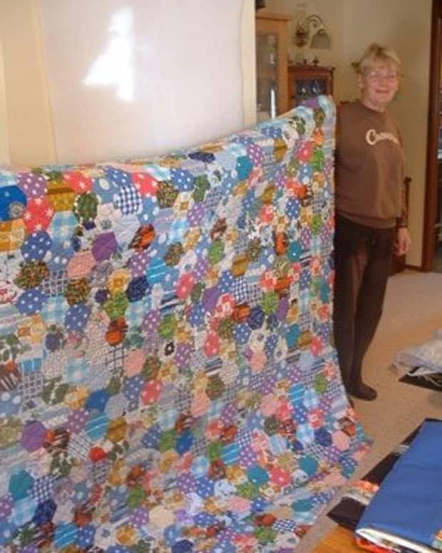 patchwork-quilt-designs-hexagons