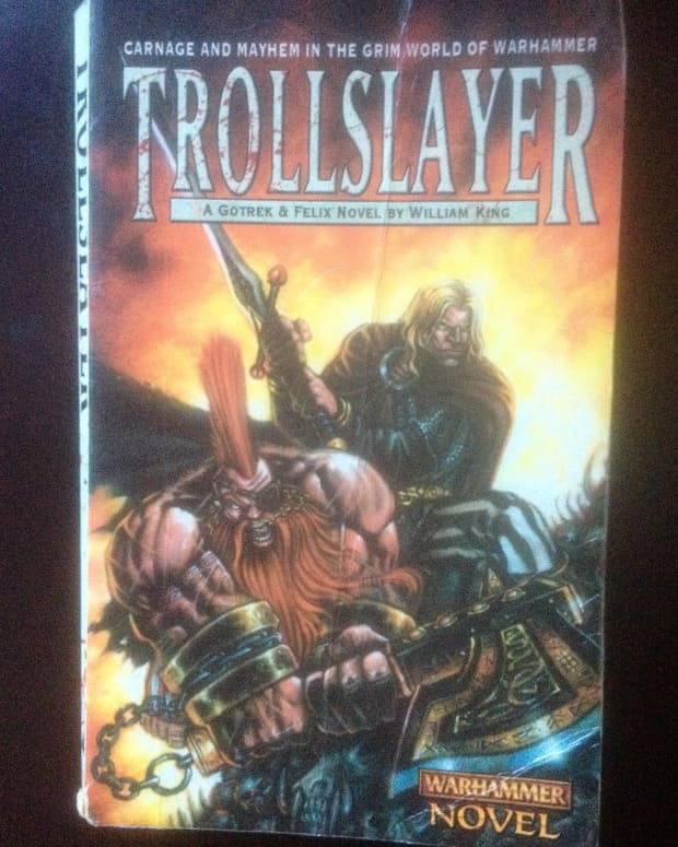 Front cover of an old copy of Troll Slayer