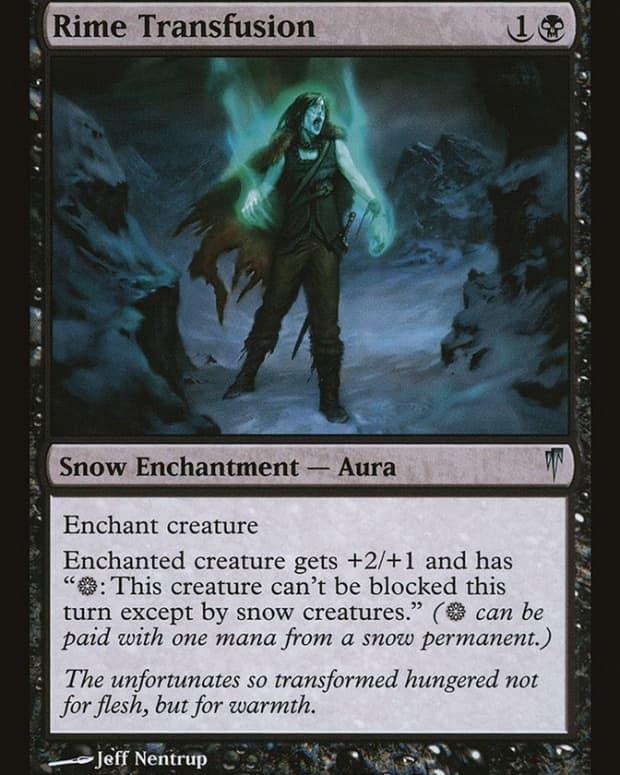 best-snow-cards-mtg