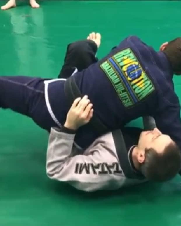 how-to-do-a-backstep-guard-pass-bjj