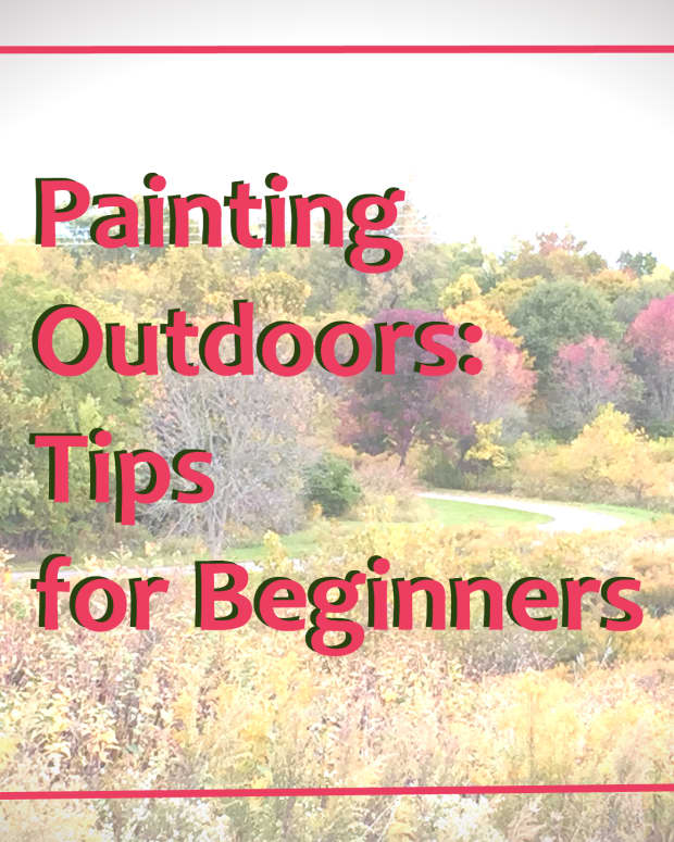 Tips on painting outdoors for beginners.
