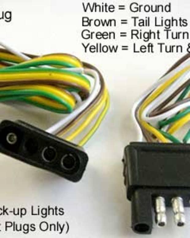 用于安装的提示-4-Wire拖车接线