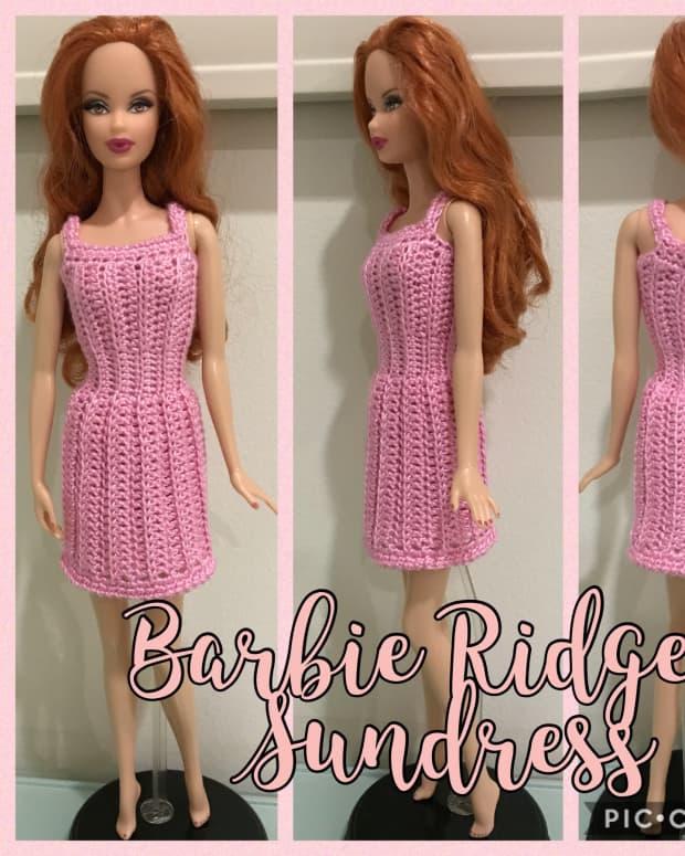 barbie-ridged-sundress-free-crochet-pattern