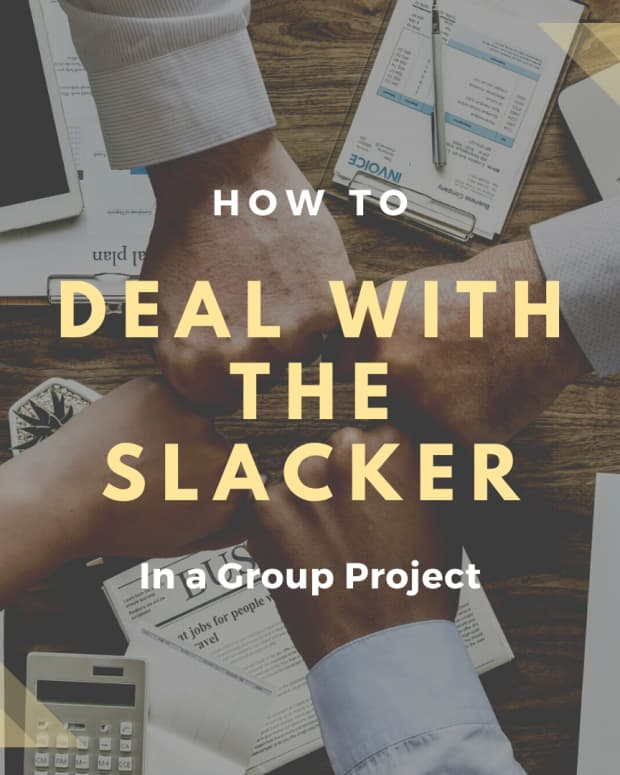 how-to-deal-with-the-slacker-in-a-group-project