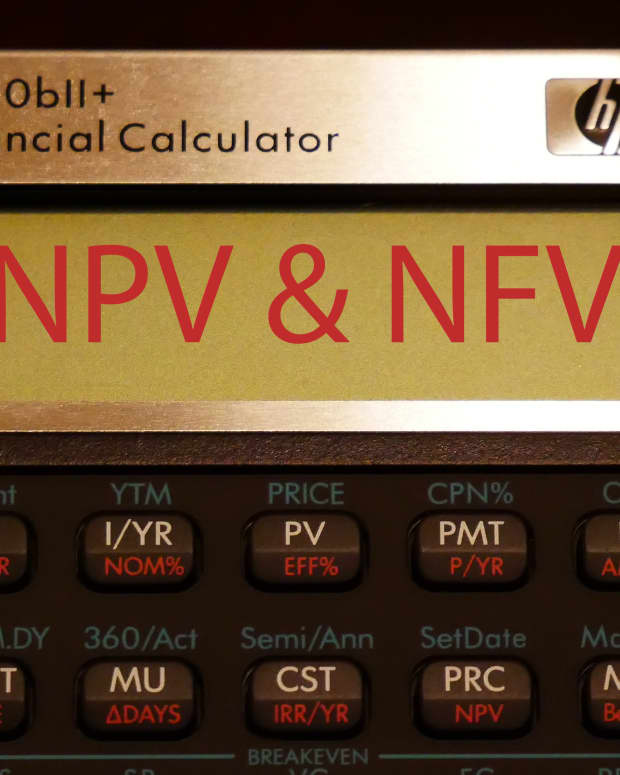 find-npv-and-nfv-of-uneven-cash-flows-with-a-hp-10bii-calculator