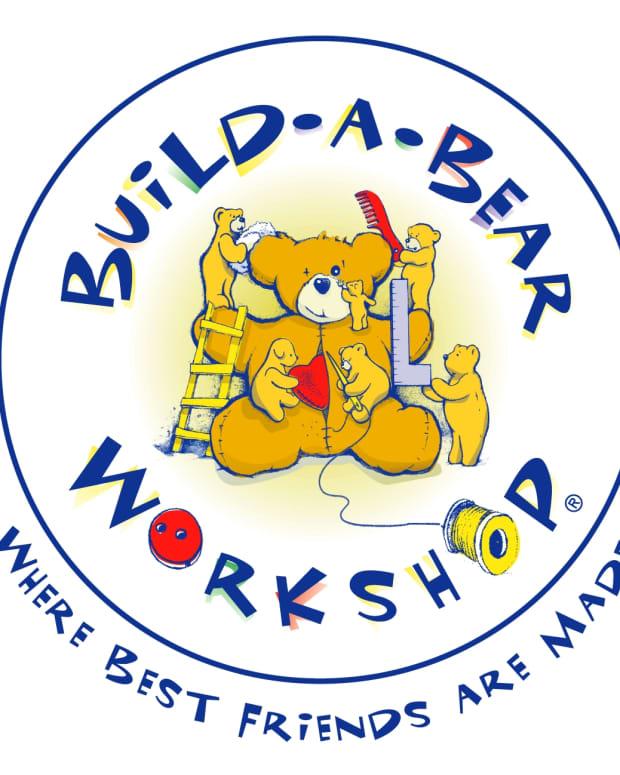 Build-A-Bear Workshop's original logo.