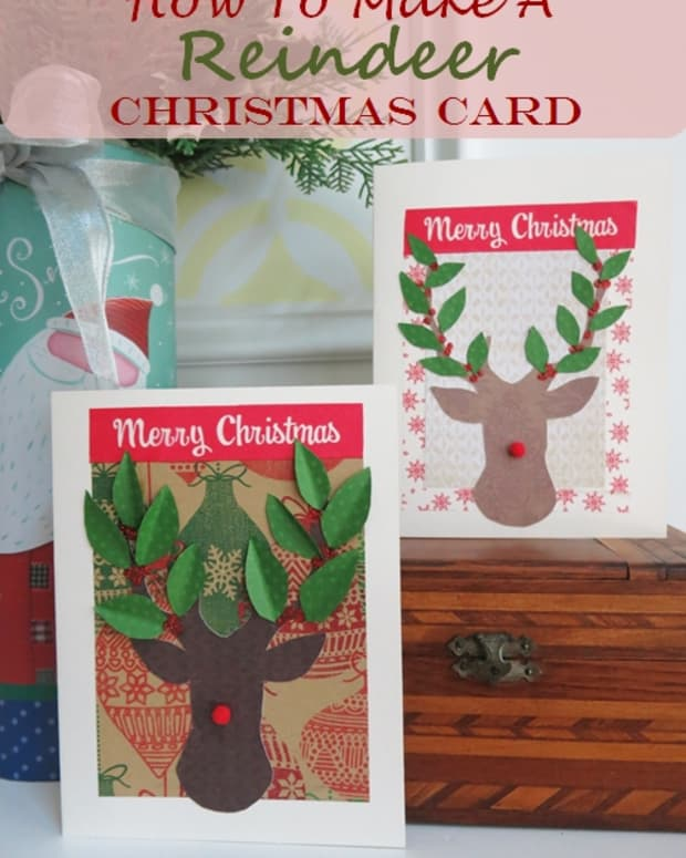 how-to-make-a-reindeer-christmas-card-without-any-special-equipment
