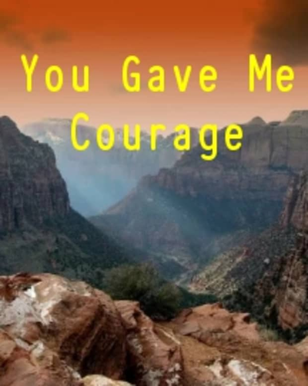 you-gave-me-courage