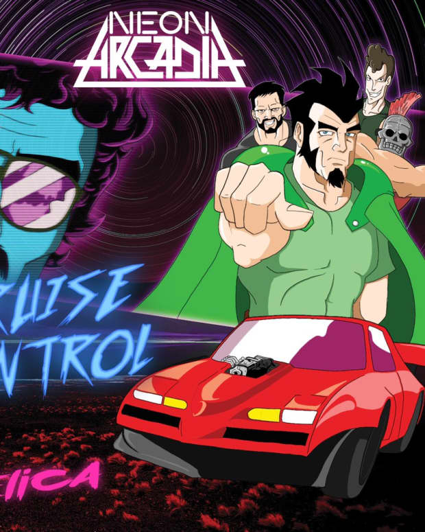 synthwave-single-review-cruise-control-neon-arcadia-feat-tom-selica
