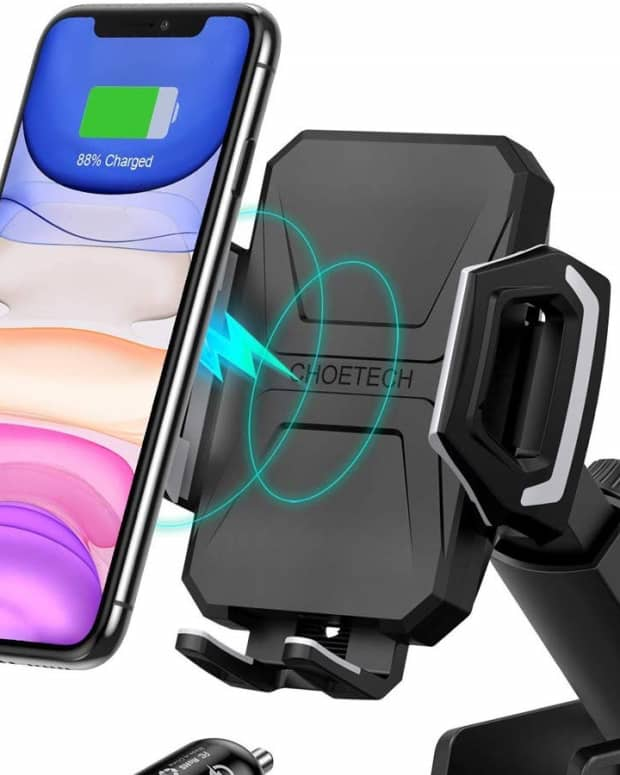 review-of-choetech-wireless-car-dock-best-iphone-11-car-charger