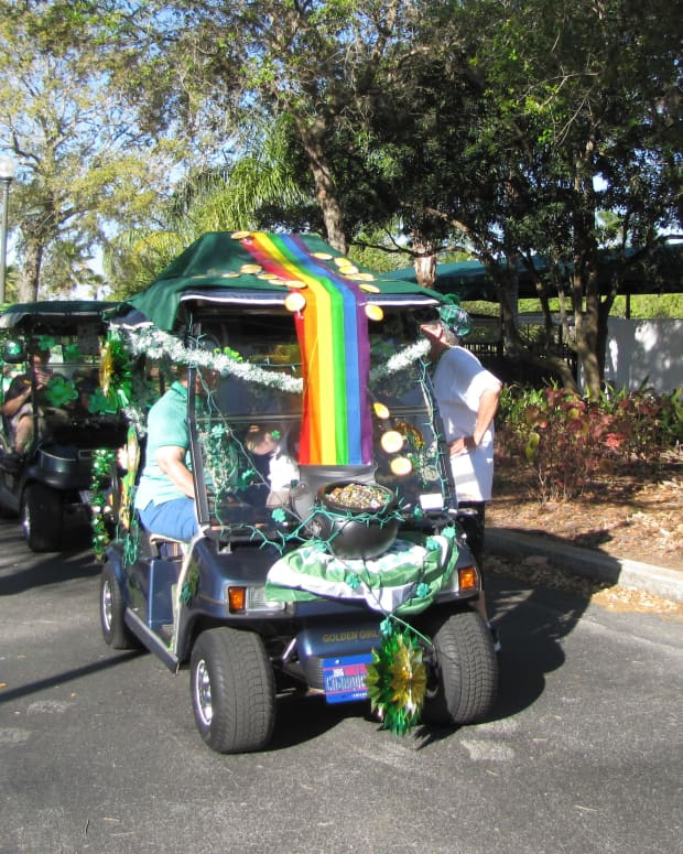 decorate-the-golf-cart-for-st-patricks-day