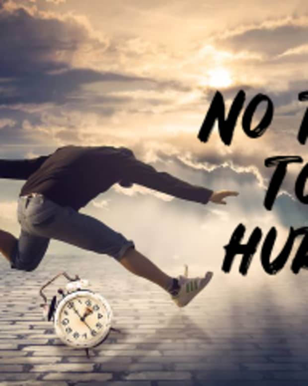 poem-no-time-to-hurry
