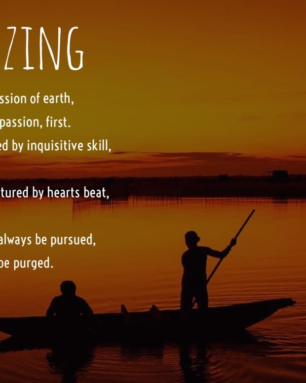 poeticizing